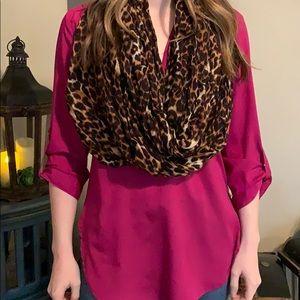 Leopard Infiniti scarf